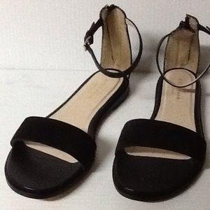 Cole Haan Black Flat Sandals